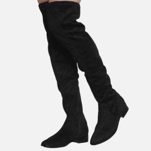 ALDO Elinna-98 Over The Knee Suede Boots -size 7.5